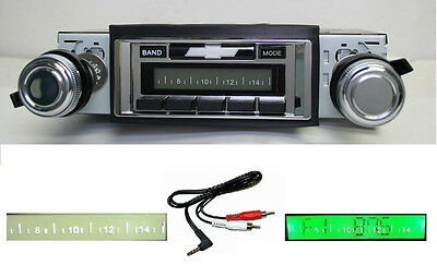 1970-1972 Chevy Radio Impala / Caprice  Free AUX Cable Stereo 230 **