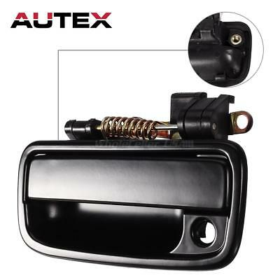 Black Outside Outer Front Left Driver Side Door Handle For 1995-04 Toyota Tacoma
