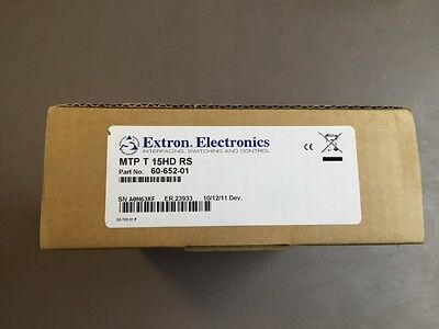 New Extron 60-652-01 MTP Twisted Pair Transmitter for VGA and RS-232