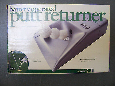 Putt Returner - Automatically Returns the Ball - Home or Office - Battery 2001
