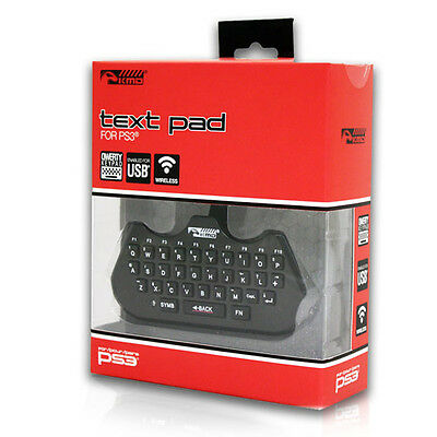 New PS3 Qwerty Text Pad Controller Adapter Playstation 3