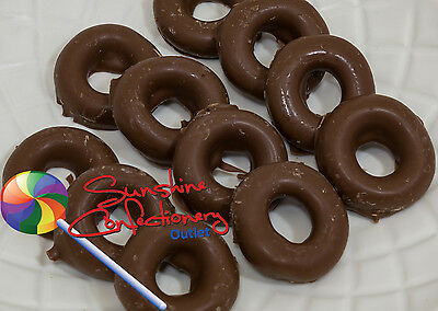 MILK CHOCOLATE ANISEED RINGS  -  370 grams - Candy, Sweets, Chocolate
