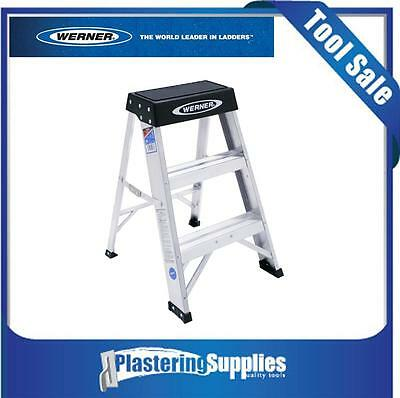 Werner 150BAZ  135Kg Industrial  Rating Aluminum Step Stool   60cm Ladder