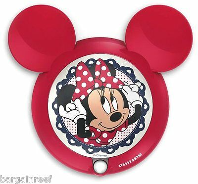 Philips Disney Night Light Minnie Mouse Children's Sensor Night Light LED NEW