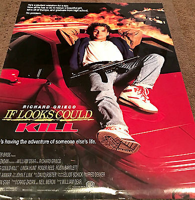 If Looks Could Kill Movie Poster Richard Grieco Video Promo Poster 1991