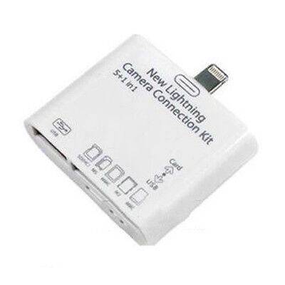 Brand New 5in1 USB Connection Adapter Kit TF Card Reader for iPad Mini Air Chic