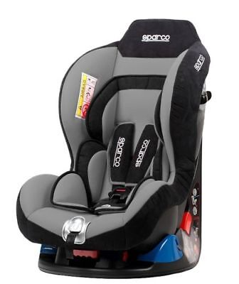Sparco Child Seat F5000 K GREY 0-18 kg ECE Homologation Safety Auto Car Baby