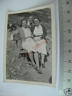 OLD Photo LOT3 1920-40s 2 Women and A Man Posing Vintage Fashion  038