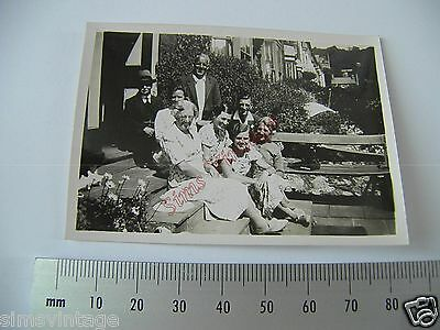 OLD Photo LOT3 1920-40s Group Of Men And Women Vintage Fashion 015