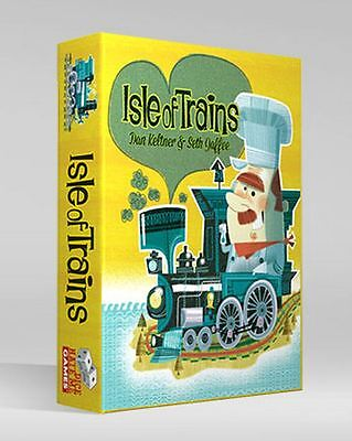 Isle of Trains - Train Building Card Game