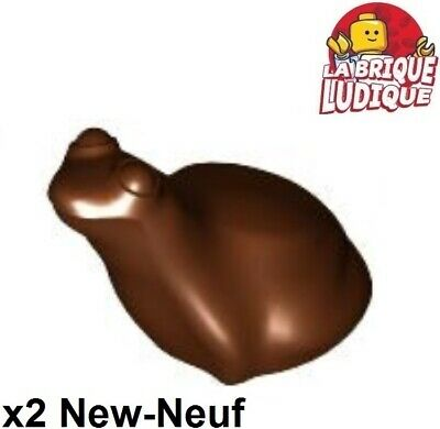 33320, x223, 28841 - Pearl Gold x1 LEGO Animaux Grenouille