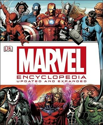 Marvel Encyclopedia: Updated & Expanded--Hardcover
