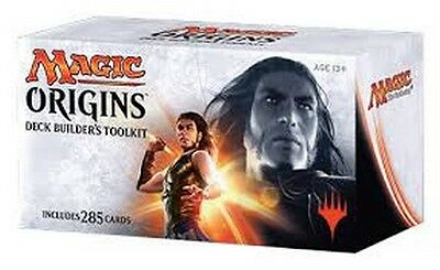 MTG MAGIC ORIGINS Deck Builder's Toolkit Factory Sealed, ITALIANO, Nuovo