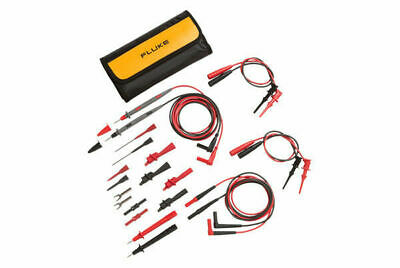 Fluke TL81A Deluxe Electronic Test Lead Set, Pouch + Leads/Probes
