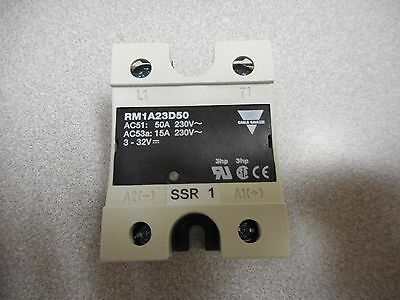 Carlo Gavazzi Rm1A23D50 Solid State Relay 50A 230V