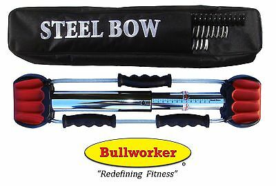 Bullworker Steel-Bow with Chart & Case