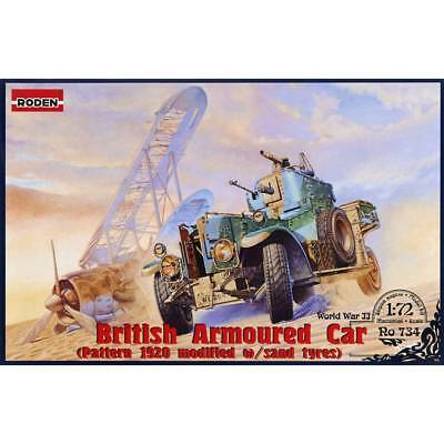 NEW Roden 1/72 British Armoured Car Pattern 1920 Mk.II 734