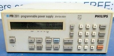 Fluke Phillips PM2811 60W Power Supply 30 Volts at 10 Amps with GPIB