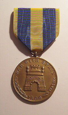 1898 Army Spanish War Campaign Medal