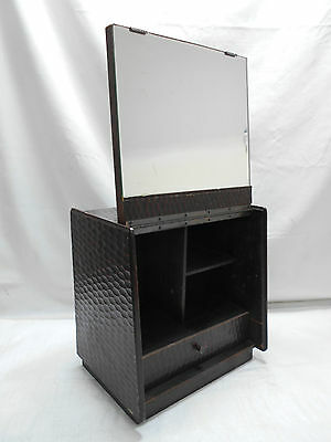 Vintage Kamakura Lacquer Kiri Wood Makeup Box Japanese Drawers Circa 1960s #501