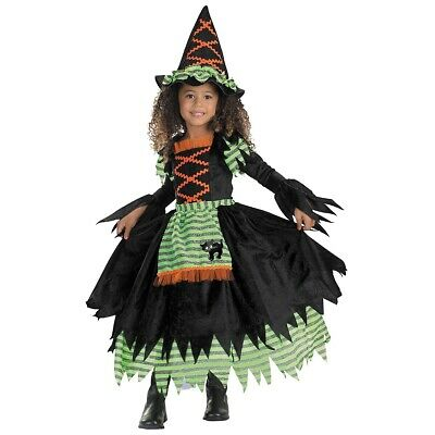 Witch Costume Toddler Kids Halloween Fancy Dress