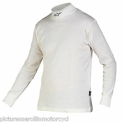 Alpinestars Nomex Fia Approved Underwear Long Sleeve Top Shirt Car Auto Motorcyc