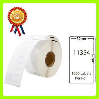 1 Rolls 11354 Labels Compatible for Dymo/Seiko 57 x 32mm 1000 labels per roll