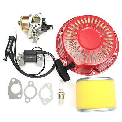 Carburetor Recoil Pull Start Starter Air Filter For Honda GX340 11HP GX390 13HP