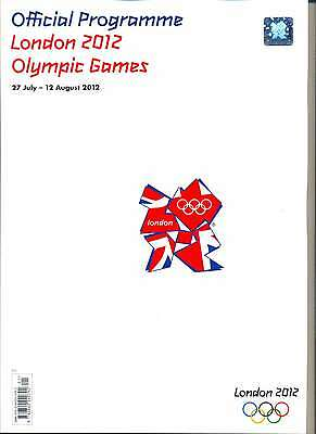 Olympic Games London 2012 Official Mint Programme