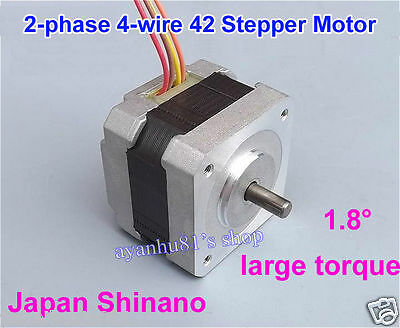 NEMA 17 2-phase 4-wire Stepper Motor for 5mm Pulley CNC RepRap Prusa 3D Printer