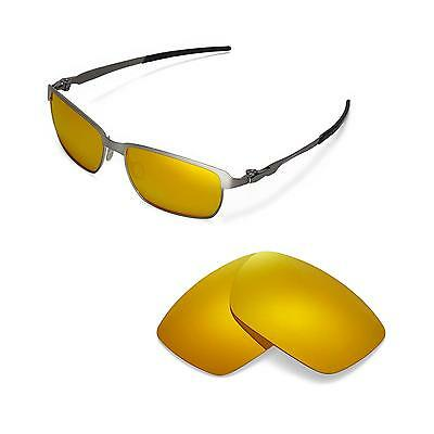 624dc2c23a NEW WALLEVA POLARIZED 24K Gold Lenses For Oakley X Squared -  19.99 ...
