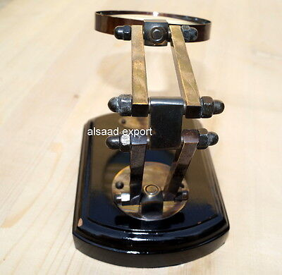 Antique Wood & Brass Magnifying Glass Nautical Usble Gift With Stand Glass