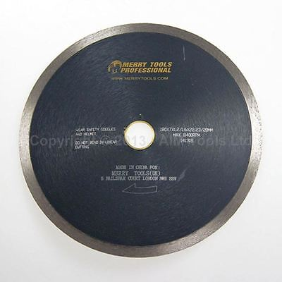 141318 180MM Continues Rim Diamond Wet Cutting Blade For Ceramic Porcelain Tile