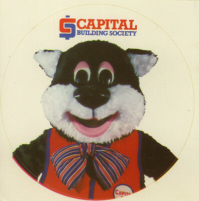 Original Sticker: Capital Building Society