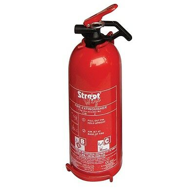 600g Dry Powder Fire Extinguisher with Gauge [WH55]