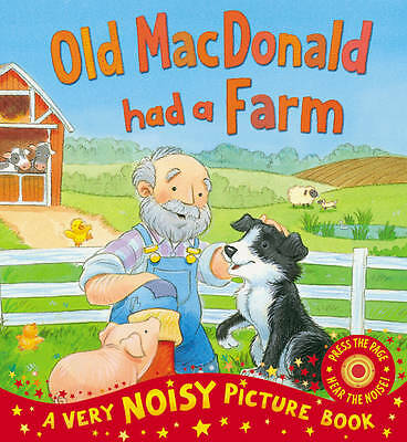 Old MacDonald Had a Farm: Picture Book with Sounds - New paperback book
