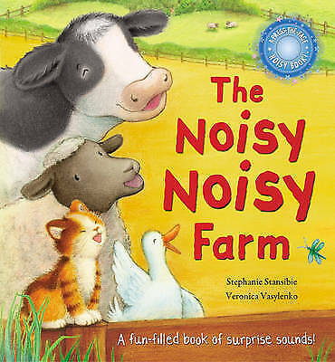 The Noisy Noisy Farm - Picture Book with Sounds - New paperback book