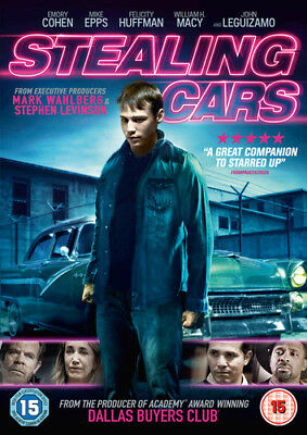 Stealing Cars DVD (2016) Emory Cohen ***NEW***