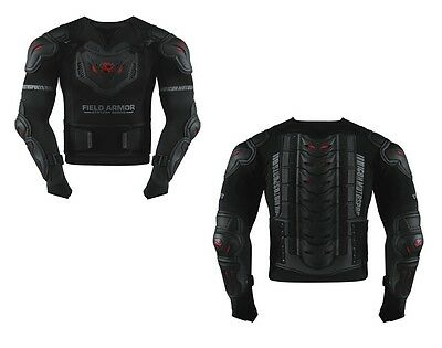 Icon Body Armor Stryker Rig Field Armor Motorcycle Black All Sizes