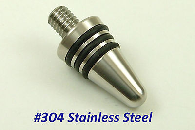 Blank #304 SS Wine Bottle Stoppers  (set of 8 stoppers)