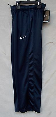 New Boy's Dark Obsidian Polyester Nike Essential Training Sport Pants Size Small