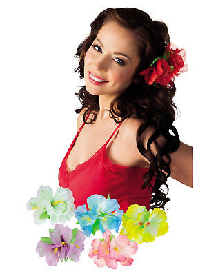 Hawaii Haarspange Hibiscus Blüte Hibiskus Hawaiiparty Beachparty Karibik Nacht