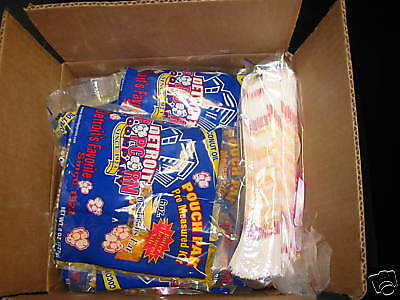 Popcorn Serving Kit For Party of 48  (Includes Bags/salt/seeds/oil)