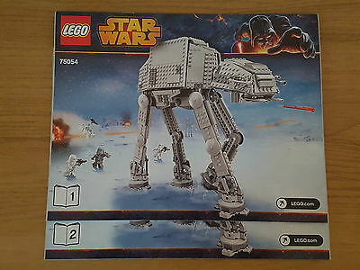 Lego Star Wars - 75054 At-At - Instruction Manual Only