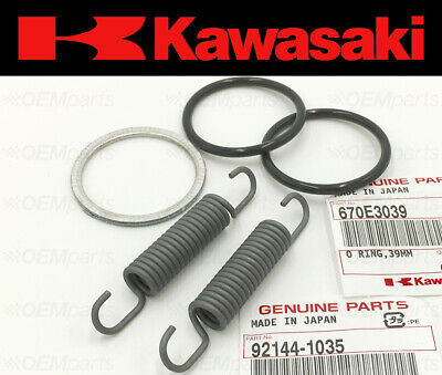 Exhaust Manifold Gasket Repair Set Kawasaki KDX 200 1989-2006 (O-ring / Springs)