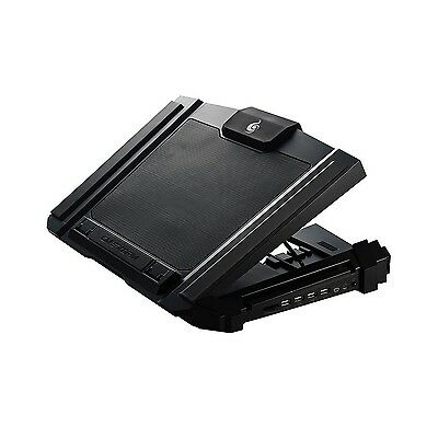 CM Storm SF-17 - Gaming Laptop Cooling Pad with 180 mm Fan and 4 Ergonomic He...