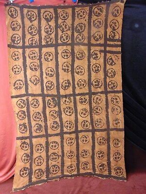 PRIMITIVE Native TAPESTRY Rug TRIBAL MADE Polynesian AFRICAN Japanese MYSTERY