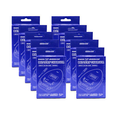 Wholesale Lot of 10 GBA SP Battery Dock Charger Dragon New (GameBoy Advance)