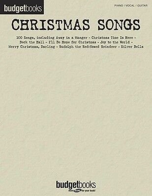Brand New BUDGET BOOKS CHRISTMAS SONGS PVG Sheet Music