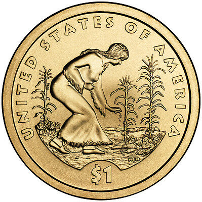2009P $1 Native American - Three Sisters